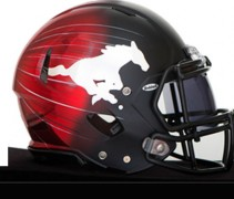 Calgary Stampeders New Helmet 2014