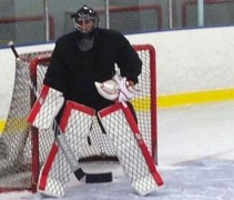 Camouflage Goalie Pads Hockey