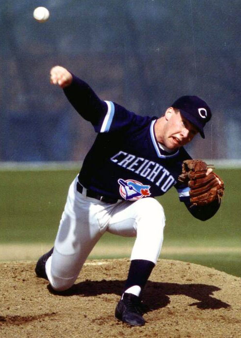 Creighton Bluejays Baseball 1991 uniform
