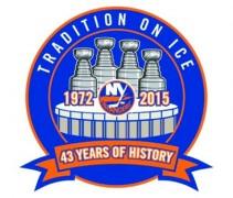 Islanders Nassau Coliseum final season logo