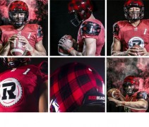 Ottawa Redblacks Plaid Helmet