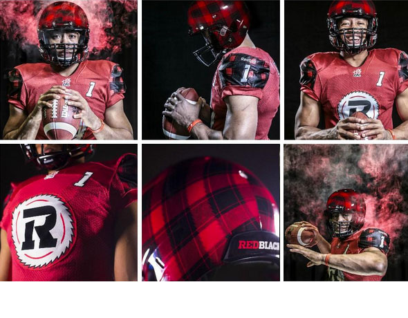 Ottawa Redblacks Unveil Plaid Uniforms