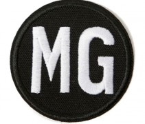 Tampa Bay Buccaneers Malcom Glazer MG Memorial Jersey Patch 2014