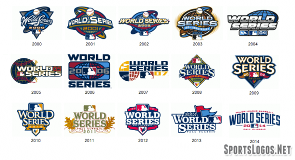 This is the 15th straight World Series to have a uniquely different logo from the year before