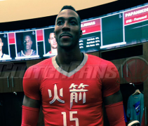 Houston Rockets Chinese Jersey F