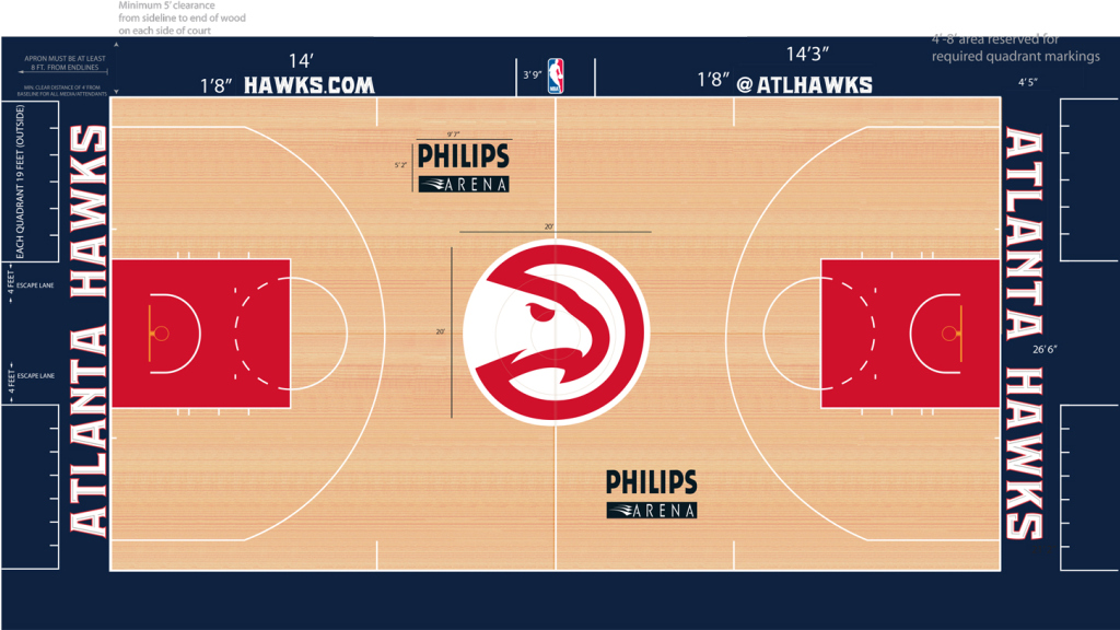 Six New NBA Court Designs Revealed, Plus One More On The Way