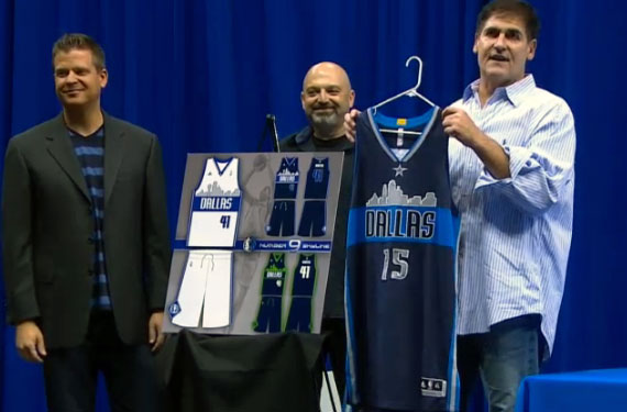 New Mavericks Uniform
