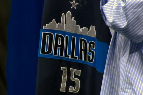 Dallas Mavericks Introduce Fan Designed Jersey