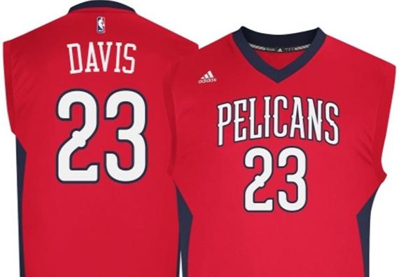 NBA Store Jumps The Gun, Accidentally Reveals Pelicans Alt Jersey