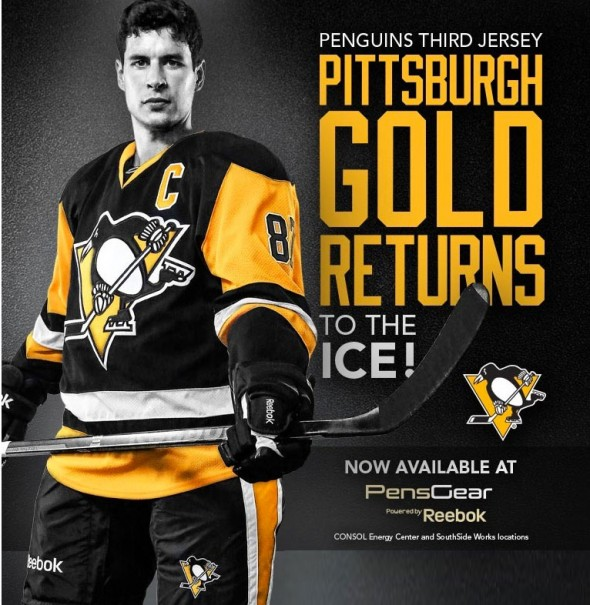 Pittsburgh Penguins Unveil Retro Third Jersey Chris