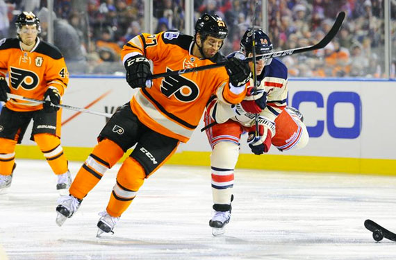 Philadelphia Flyers 2012 Winter Classic Uniform