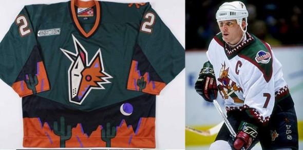Phoenix Coyotes Original Uniforms