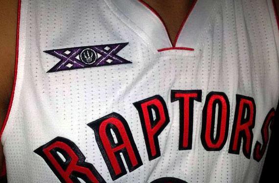 Toronto Raptors 20th Anniversary Jersey Patch 2014-15