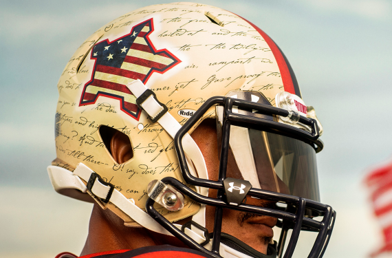 """new product 1d065 33093 Maryland Terrapins Unveil """"Star Spangled"""" Football Uniforms ..."""