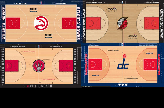 new nba courts 2015