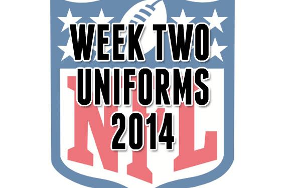 nfl week two uniforms 2014