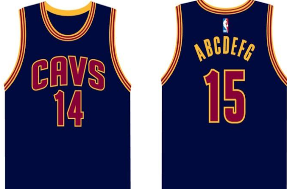 Cavs Unveil Navy Alternate To Go With New Court