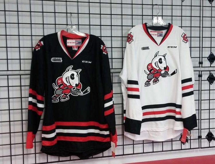Jr Hockey: Rebels and IceDogs Unveil New Uniforms