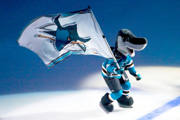 Sharkie_with_flag