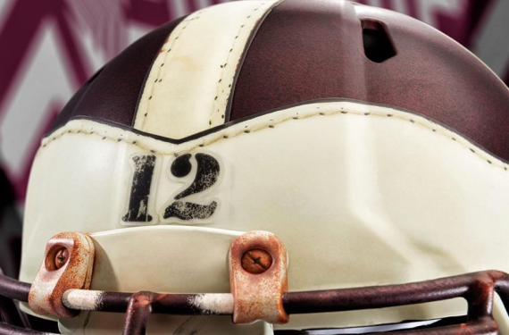 Texas A&M Will Wear 1939 Throwbacks, Including Amazing Helmets