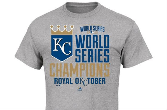 KC Royals 2014 World Series Phantom Champs Merchandise
