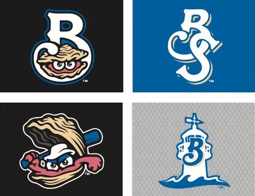 Biloxi Shuckers Cap Logos