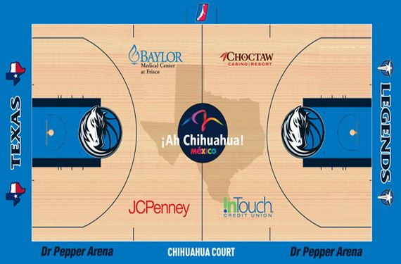 Two D-League Teams Introduce Ad Laden Jerseys, Courts