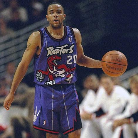 6026368b0df Damon Stoudamire Toronto Raptors 1995-96 | Chris Creamer's ...