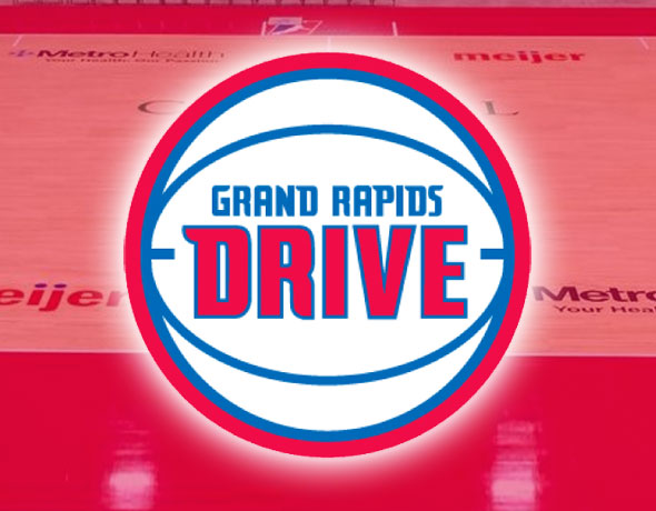 Grand Rapids Drive Unveil New Court with Giant Ad