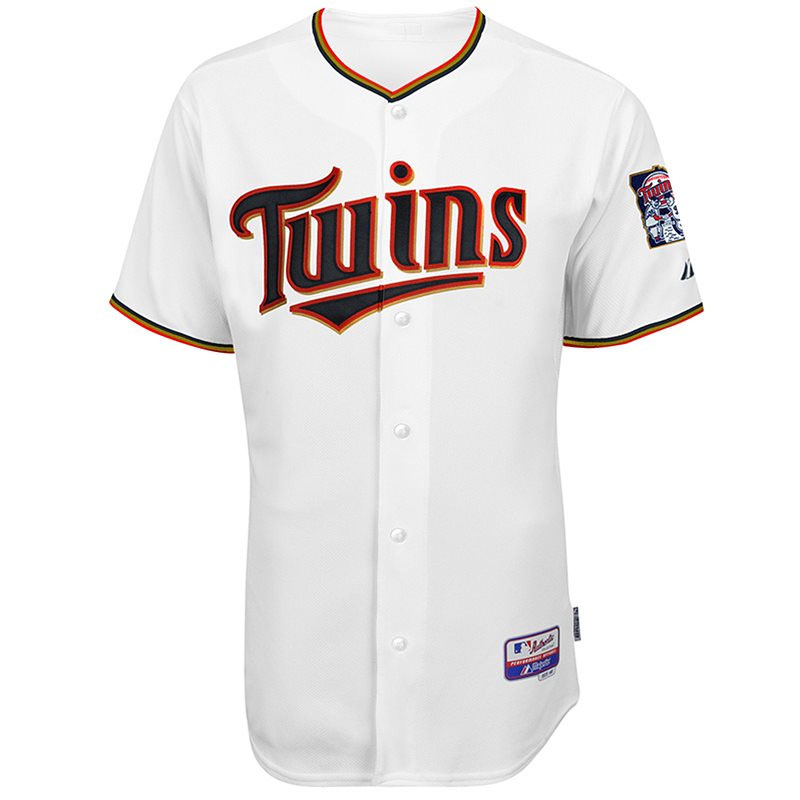 No pinstripes, gold added to new Twins jersey for 2015