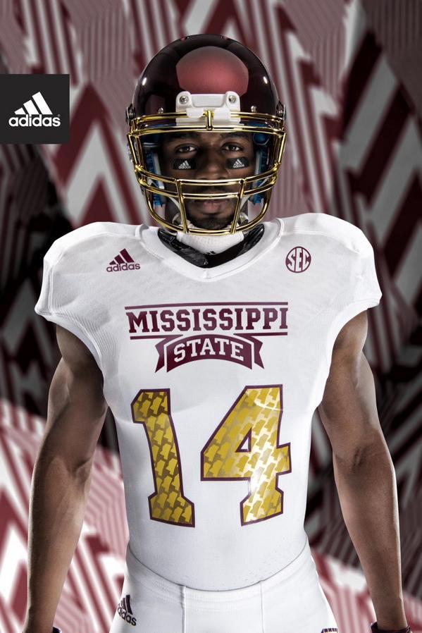 2499508e8 Mississippi State Reveals 2014 Egg Bowl Uniforms
