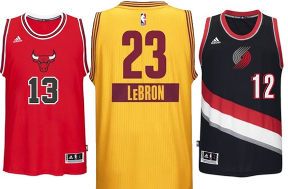 NBA Unveils Christmas Jerseys: No Sleeves, First Name on Back