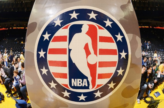 Nba Veterans Day Logo Nba Troops f With Veterans Day