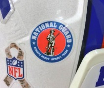 NFL National Guard Decal
