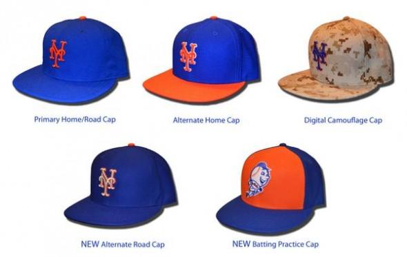 NY Mets New Caps 2015