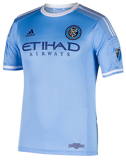 New York City FC Unveils New Uniforms