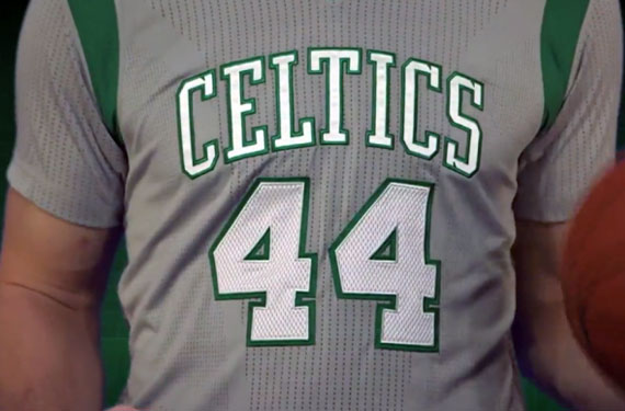 Boston Celtics Reveal Grey, Sleeved Parquet Pride Uniforms