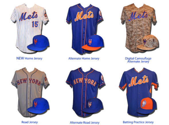 9641ebe91 New York Mets Release Uniform Changes for 2015