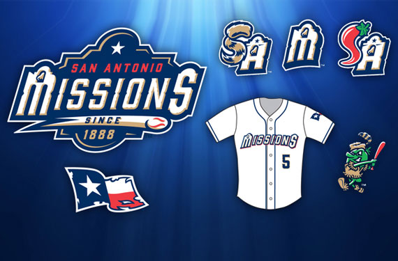 San Antonio Missions New Logos 2015