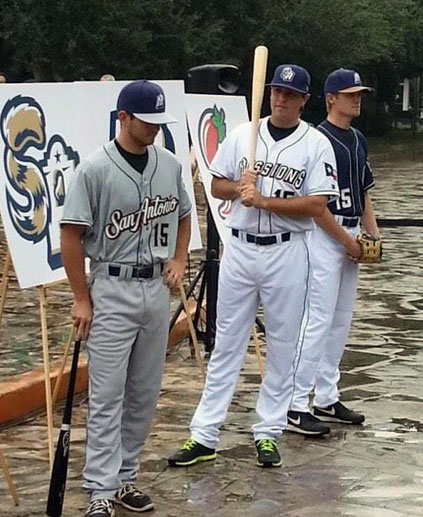 San Antonio Missions New Uniforms 2015