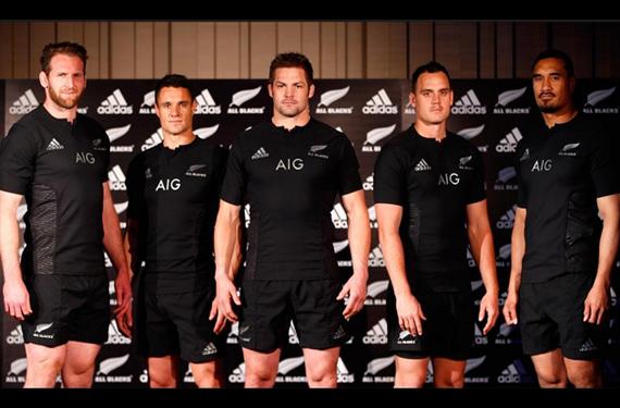"New Zealand's All Blacks Unveil ""Blackest Jersey Ever"""