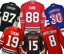Top Selling NHL Jerseys