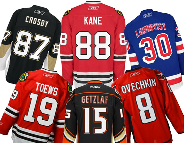 NHL Releases Top Selling Jerseys for October 2014  9ab8e719555