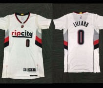 Trail Blazers Sleeved Jersey 2014-15