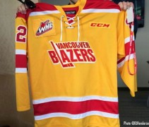 Vancouver Blazers Throwback Giants WHL 2014