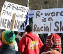 Washington Redskins Name Protest Minnesota 2014