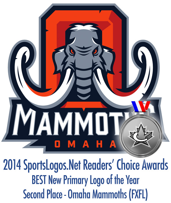 Best Primary Logo 2014 - 2nd - Omaha Mammoths