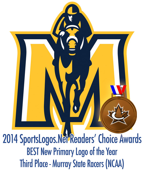 Best Primary Logo 2014 - 3rd - Murray State Racers