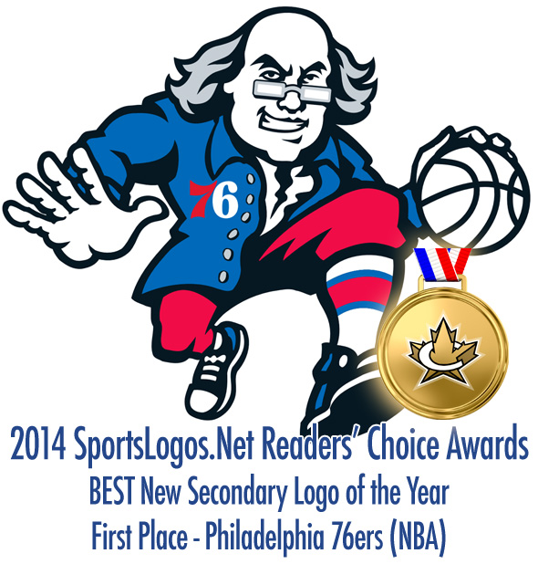 Best Secondary Logo 2014 - 1st - Philadelphia 76ers