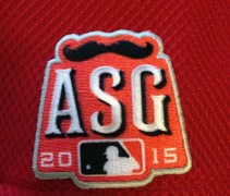 Cincinnati Reds 2015 ASG Patch Cap
